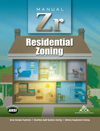 ACCA Manual Zr Residential Zoning